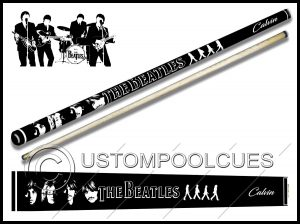 Classic Beatles Pool Cue