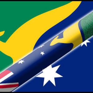 australia flag cue
