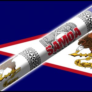 American Samoa Flag Cue